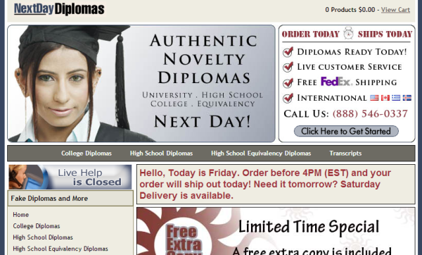 nextdaydiplomas.com review