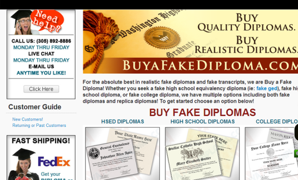 buyafakediploma.com review